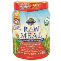 Raw Meal Organic Meal Replacement Shake 455 海外直送