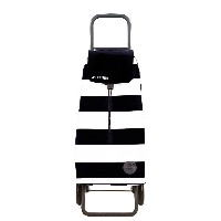 ROLSER SHOPPING CART MOUNTAIN Lido 《Blanco/Negro》 ロルサー ショッピングカート