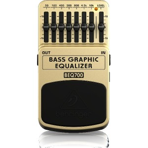 BEHRINGER ベリンガー 7バンド・グラフィックイコライザーBASS GRAPHIC EQUALIZER BEQ700