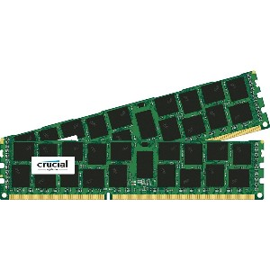 Crucial [Micron製Crucialブランド] DDR3 1866 MT/s (PC3-14900) 32GB Kit (16GBx2) CL13 Registered DIMM...