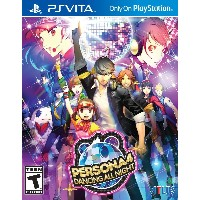 Persona 4: Dancing All Night (輸入版:北米) - PS Vita