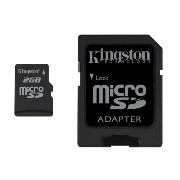 Kingston 2GB microSDカード SDC/2GB 永久保証