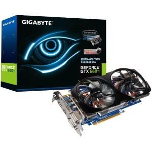GIGABYTE グラフィックボード Geforce GTX660Ti 2GB PCI-E GV-N66TOC-2GD/A
