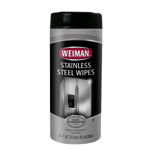 Weiman Stainless Steel Wipes ステンレス・クリーナー 30枚入り [並行輸入品]