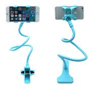 World Star® Cell Phone Holder, Universal Cell Phone Clip Holder Lazy Bracket Flexible Long Arms for...