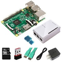 Eleduino Raspberry Pi 2 Model B (1GB) XBMC Kit Includes Raspberry Pi 2 Model B/ User Guide /Wi-Fi ...