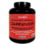 Muscle Meds Carnivor Beef Protein Powder, Strawberry, 4 Pound by Muscle Meds [並行輸入品]