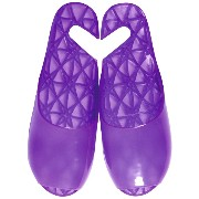 FOOTLIFE bath sandals バスサンダル M(22.5-24.5cm) purple F3222 PU-M