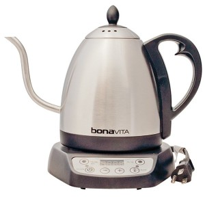 Bonavita 1-Liter Variable Temperature Digital Electric Gooseneck Kettle [並行輸入品]