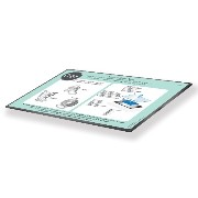 Sizzix Thin Dies Accessory Precision Base Plate for Wafer [並行輸入品]