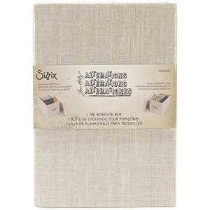 Sizzix Die Storage Box By Tim Holtz-For Bigz & Bigz Large Dies (並行輸入品)