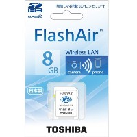 TOSHIBA FlashAir SDカード 8GB SD-WB008G
