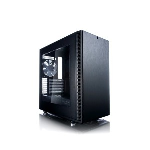 Fractal Design Define Mini C Black Window MicroATX用PCケース スチール Window CS6474 FD-CA-DEF-MINI-C-BK-W