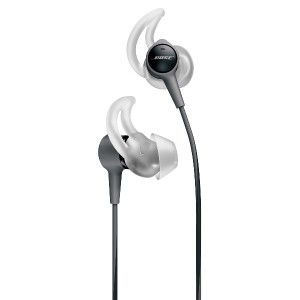 Bose SoundTrue Ultra in-ear headphones - Apple devices : イヤホン 防滴/Apple製品対応リモコン・マイク付き チャコール...
