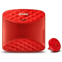 Game Golf Live GPS Shot Second Generation Tracking Device - Red by Game Golf