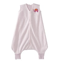 Halo Innovations Big Kids Wearable Blanket Fleece (2-3 Years, Pink Elephant)
