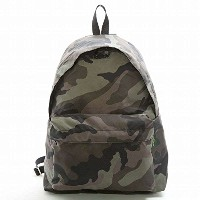Herve Chapelier 879MW/MEDIUM BACKPACK/ZIP FRONT POCKET ミディアムバックパック/リュックサック/FOREST/カモフラ柄/エルベシャ...