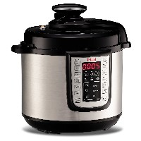 T-fal CY505E 12-in-1 Programmable Electric Multi-Functional Pressure Cooker with 25 Built-In Smart Programs / Ceramic Nonstick Cooking Pot and Stainless...