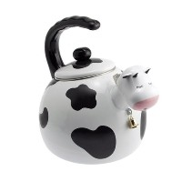 【並行輸入】Supreme Housewares Whistling Tea Kettle, Cow やかん 牛