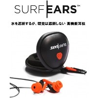 CREATURES (クリエイチャーズ) SURF EARS 2.0 サーフイヤーズ 2.0 耳栓 サーフィン BK/OR