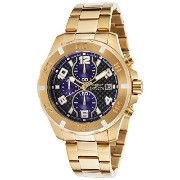 [インビクタ]Invicta Men's 17718 Specialty Analog Display Japanese Quartz Gold Watch 腕時計 [並行輸入品]