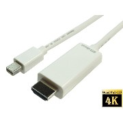 ATS direct 4K対応 Mini Displayport to HDMI 変換ケーブル 1.8m【A0335】