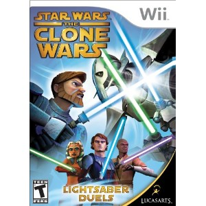 Star Wars the Clone Wars Lightsaber Duels-Nla