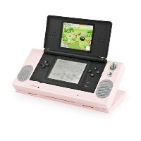 Speaker Stand(Pink) for Nintendo DS Lite