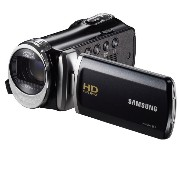 "Samsung F90 Black Camcorder with 2.7"" LCD Screen and HD Video Recording"