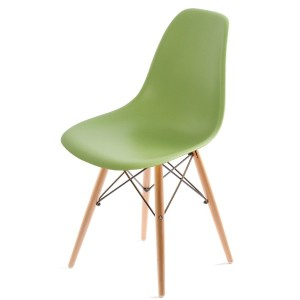 UNE BONNE(ウネボネ) EAMES CHAIR(イームズチェア) イームズ デザイナーチェア 椅子 ダイニングチェア グリーン
