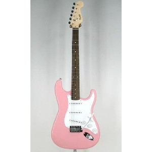 Squier by Fender スクワイア エレキギター Bullet with Tremolo PINK