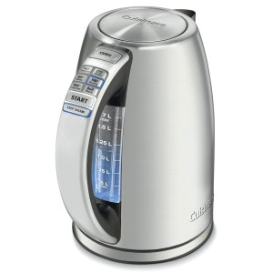 【並行輸入】Cuisinart PerfecTemp 1.7-Liter Stainless Steel Cordless Electric Kettle 電気ケトル