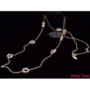 Diane Yangダイアン・ヤン【Bella Long Necklace/Pearl】