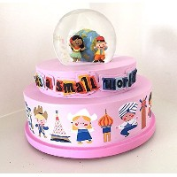 Disney Parks It's a Small World Musical Snowglobe NEW by Disney [並行輸入品]