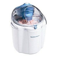 【並行輸入】Hamilton Beach 68320 1-1/2-Quart Capacity Ice Cream Maker, White アイスクリームメーカー