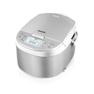 Philips HD3095/87 Electric Multi-Cooker, Stainless Steel/White [並行輸入品]