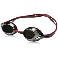 [並行輸入品]Speedo Vanquisher 2.0 Mirrored Swim Goggle,Red