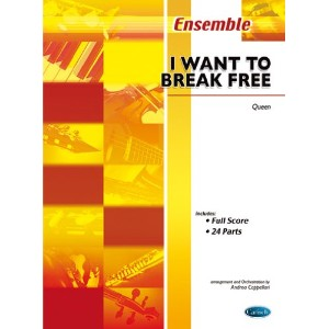 CARISCH QUEEN - I WANT TO BREAK FREE - ENSEMBLE MUSICAL Partition jazz&blue Ensemble et orchestre...