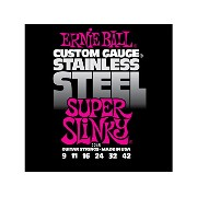 ERNIE BALL #2248×3SET☆SUPER SLINKY Stainless アーニーボールエレキギター弦