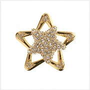 PiELY Twinking Star GOLD-CRYSTAL