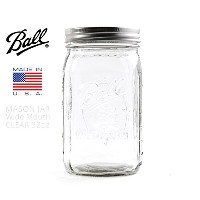 BALL MASON JAR ボール メイソンジャー Wide Mouse 32oz CLEAR /blg021305101
