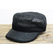 "BRONER ブローナー ""CADET"" PAPER WORKCAP (BLACK)"