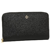 (トリーバーチ) TORY BURCH トリーバーチ 財布 TORY BURCH 11169071 001 ROBINSON ZIP CONTINENTAL WALLET 長財布 BLACK ...
