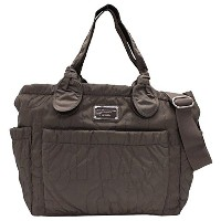 MARC BY MARC JACOBS(マーク バイ マークジェイコブス) マザーズバッグ 『Core Pretty Eliz-a-baby』(クォーツグレー) ...