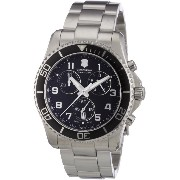 (ビクトリノックス) VICTORINOX Swiss Army スイスアーミー Men's 241432 Maverick GS Stainless Steel Chronograph Watch...