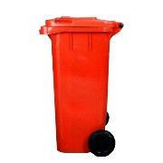 【DULTON】ダルトン Plastic trash can 120L (RED)