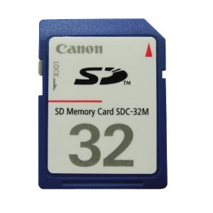 Canon 32 MB SD Memory Card (not 32 GB) by Canon [並行輸入品]
