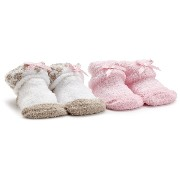 Carter's(カーターズ) :: Chenille 2-Pack Booties :: 0-3M :: 0-3ヶ月