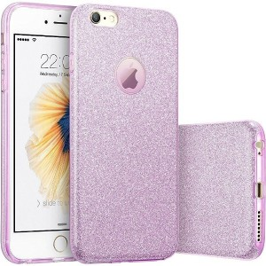 Imikoko iPhone6 6s ケース キラキラケースbling-bling case for Apple iPhone 6s 6 衝撃吸収 (4.7インチ) (Purple 2)
