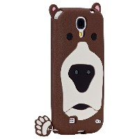 Case-Mate 日本正規品 docomo Galaxy S4 SC-04E CREATURES: Grizzly Case, Brown クリーチャーズ: グリズリー ベアー シリコン ケー...